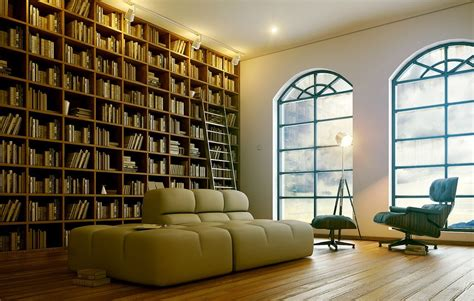 Modern Home Library Interior Design | 7 sophisticated modern home library interior design ideas