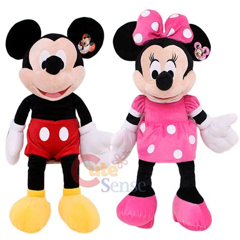 Boneka Micky Mini Jumbo disney mickey and minnie mouse plush doll jumbo size 26 quot soft stuffed ebay
