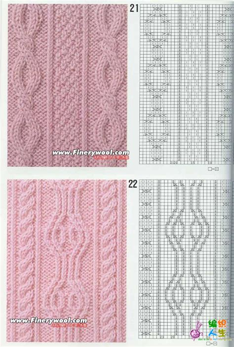 Hw K8 100个编织图样图解 大图 很清晰 超多麻花 4楼做了压缩包 棒针 女装图库 编织人生论坛