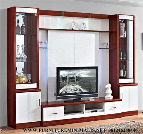 Wall Unit Tv Minimalis 8214 lemari tv kabinet minimalis murah terbaru mewah rak buku