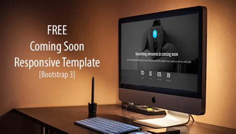Free Responsive Coming Soon Page Template free template coming soon construction