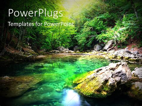 powerpoint themes river powerpoint template natural composition with river deep