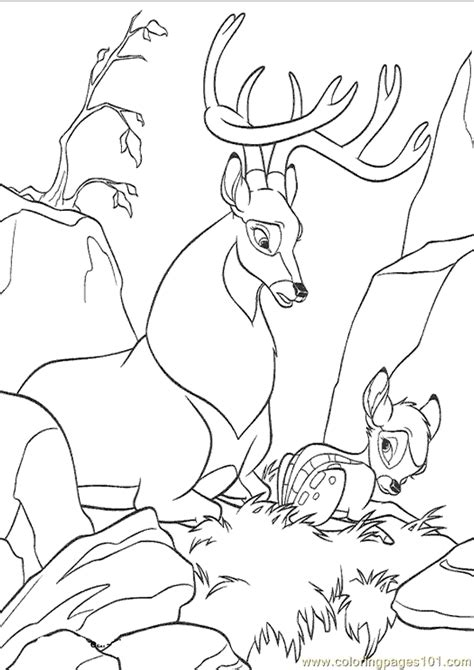 coloring pages bambi2 cartoons gt bambi 2 free