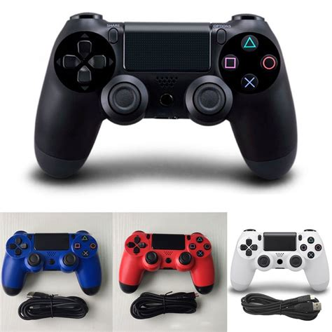 Stick Ps4 Original Hitam Paket 2 Sitck usb wired controller for sony ps4 play station 4