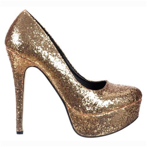gold sparkly shoes onlineshoe sparkly glitter platform stiletto heels