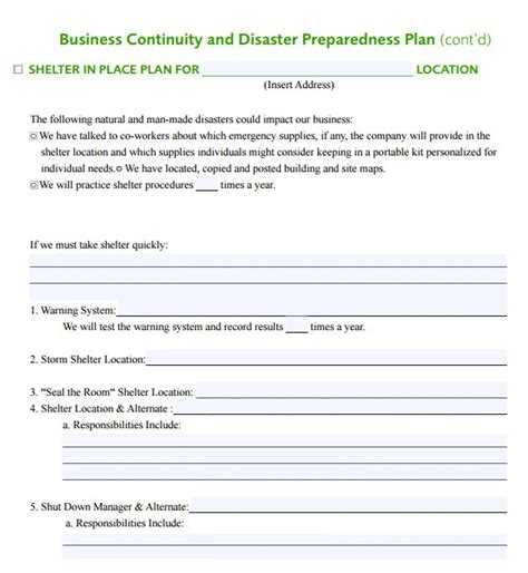 emergency response plan template for small business emergency response plan template for small business the