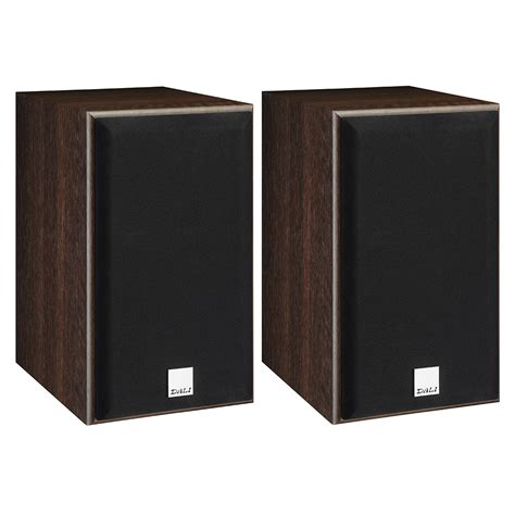 dali spektor 2 walnut bookshelf speakers pair dali
