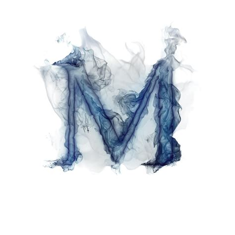 smoky letter m tattoo ideas pinterest alphabet