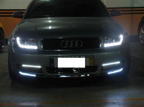 2003 audi a6 headlights 01 04 audi a6 r8 style eye led projector headlights