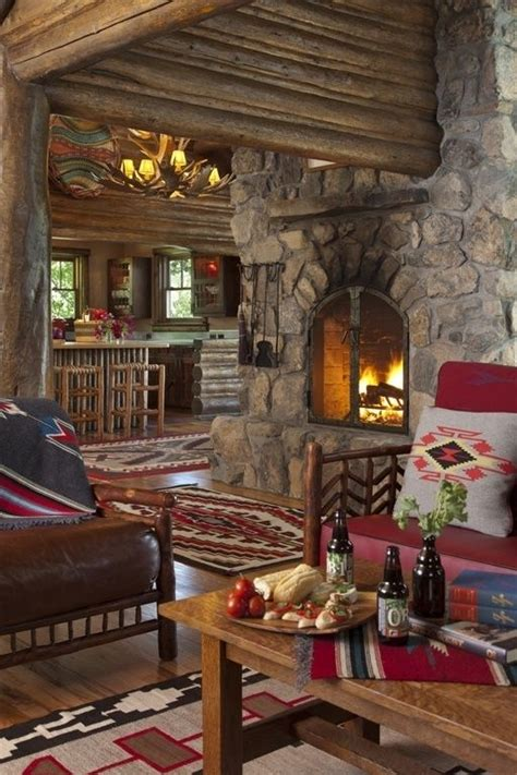 log home interior design ideas 50 log cabin interior design ideas for the home pinterest