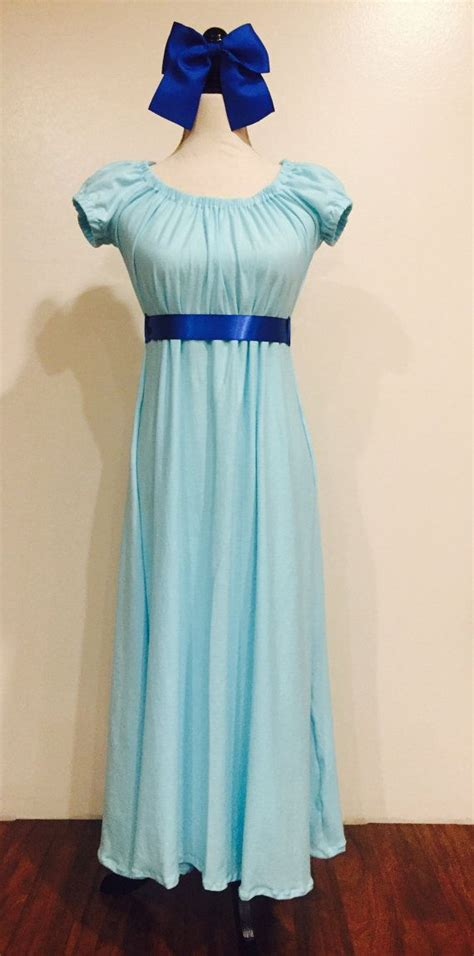 wendy darling inspired dress dressing gown peter pan
