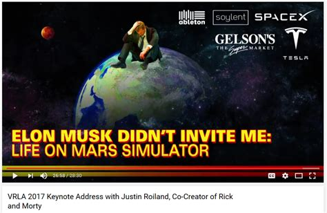 elon musk justin roiland justin roiland creator of rick and morty and dick share