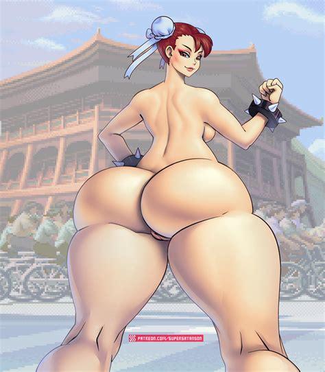 Chun Li Nude By Supersatanson Hentai Foundry