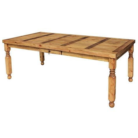 Lyon Dining Table Rustic Pine Collection Lyon Dining Table Mes24