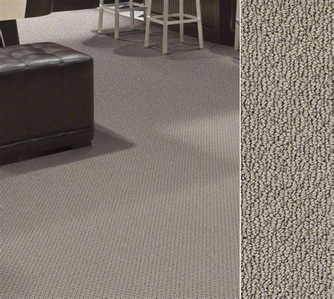 shaw carpet in 100 anso nylon in a loop construction style warrensburg in color garrett s grey