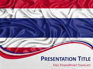 Flag Template by Thailand Flag Powerpoint Template Presentationgo