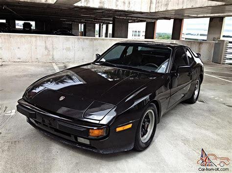 porsche 944 black 1983 porsche 944 5 speeed runs great nice classic