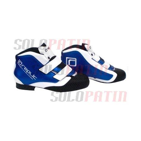 hockey boots replic r 08 white blue solopatin