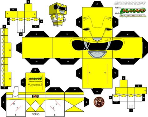 Power Rangers Papercraft - 129 best images about paper heros on green