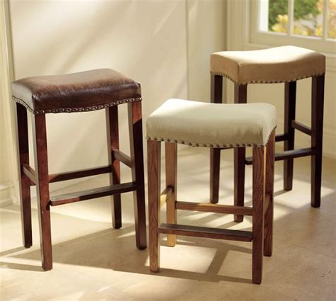 Pottery Barn Bar Stools On Sale by Manchester Backless Barstool Nail Pottery Barn And