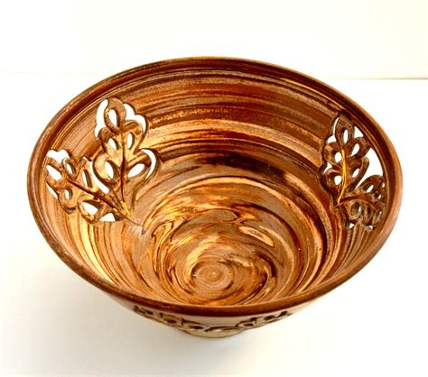 Decorative Ceramic Bowls by Decorative Ceramic Bowl Thrown Bowl Potpourri By