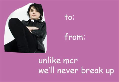 my chemical valentines cards my chemical
