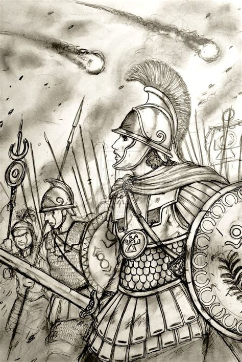 Civ 5 Sketches by Muttunbaal Thap Sanim Of Qarta Hadasti Carthage By