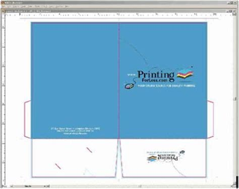 Presentation Folder Design And Layout Templates Instructions Folder Template Indesign