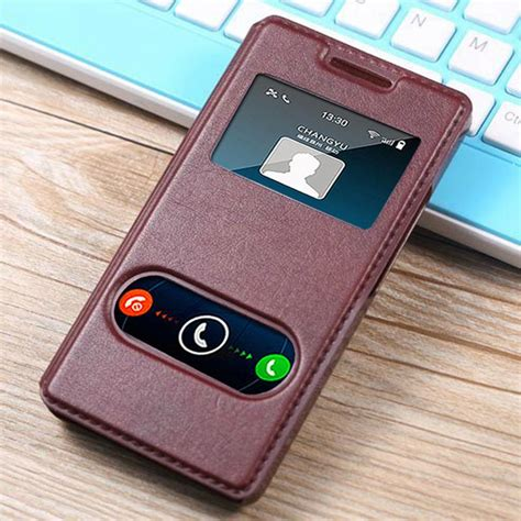 Original Fashion Casing Huawei Honor 3c luxury original for huawei honor 3c 3 c play by pu genuine leather holster view phone with
