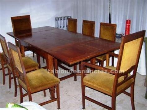 tablon de anuncios vendo mesa comedor en madera noble