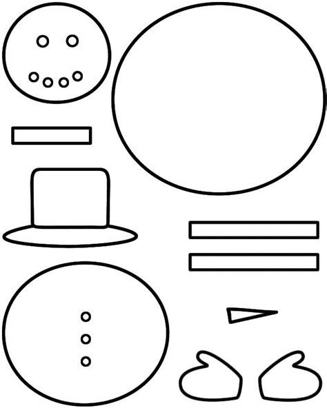 snowman template free best 25 snow ideas on crafts