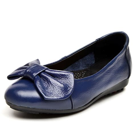 plus size 35 44 genuine leather shoes casual