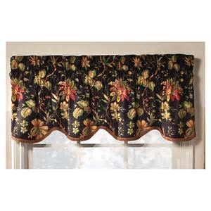 Kitchen Yellow Paint by Shop Waverly Home Classics 15 In Noir Cotton Rod Pocket