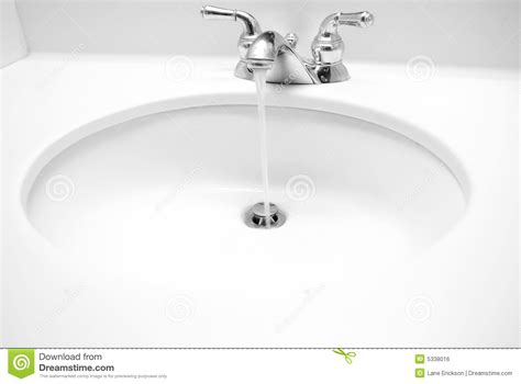 water coming up bathtub drain sink royalty free stock image image 5338016