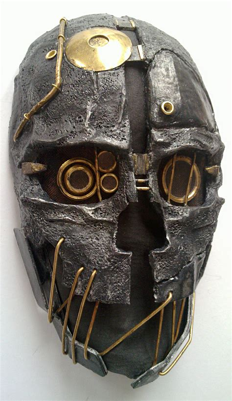 mask overal overal motif wajah dishonored corvo s mask by avelc on deviantart