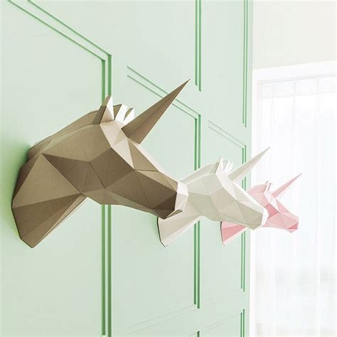 How To Make Paper Sculptures At Home - geometric paper home decorations you can fold yourself