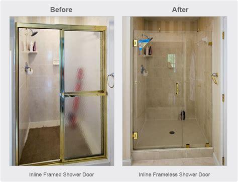 Frameless Shower Doors Why Go Frameless Dulles Glass Line Shower Door