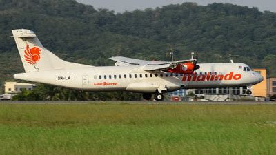 batik air status 9m lmj atr 72 600 batik air malaysia flightradar24