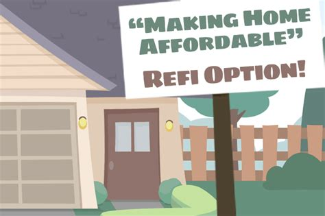 making home affordable plan obama mortgage refinancing options