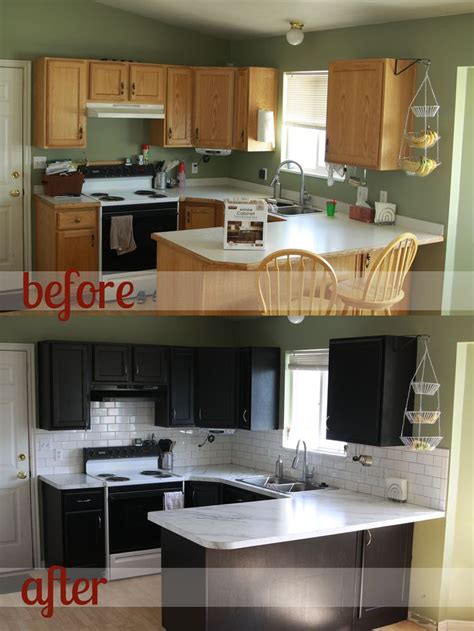 transform kitchen cabinets 25 best ideas about cabinet transformations on pinterest