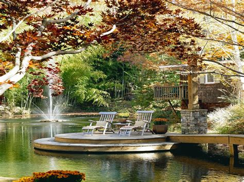Decorating outdoor patio, waterfront deck ideas lakefront