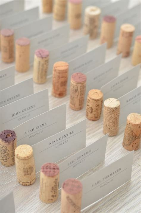 diy gem escort card holders wedding weddings and place 1000 ideas about table name holders on pinterest pink