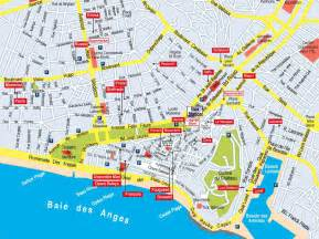 Map Of Nice France by Nice Pebbles Map Of Apartments Nice France