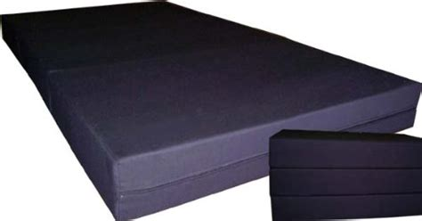 buy black solid twin size shikibuton trifold foam beds 6