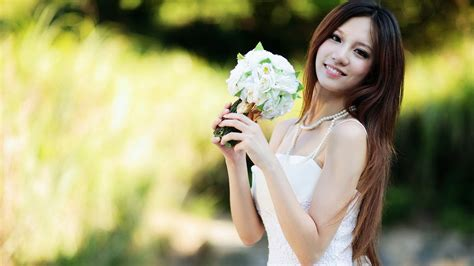 most beautiful flower bouquets hot girls wallpaper korean full hd wallpaper and background image 1920x1080