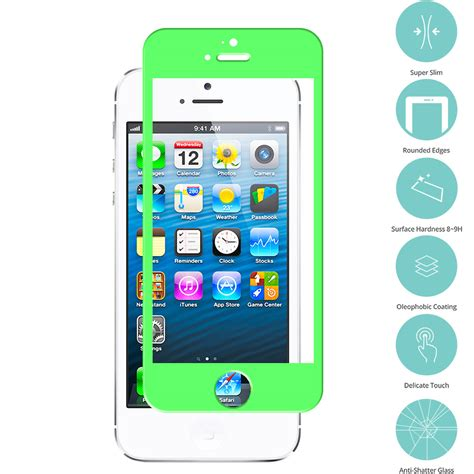 Screen Protectorguard 5 Tempered Glass for apple iphone 5 5s 5c tempered glass screen protector