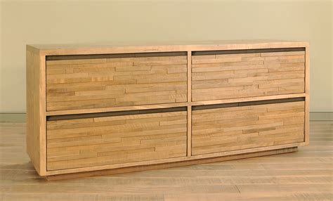Wood Dresser Ruff Sawn Ledgerock Dresser Amish Solid Wood