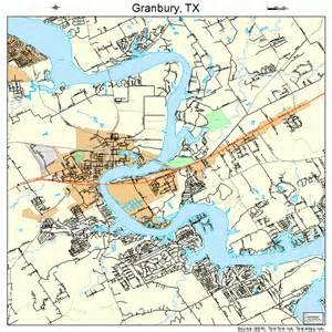 granbury map 4830416