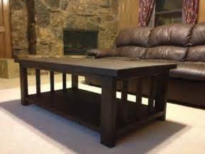 white modified rustic x coffee table diy projects