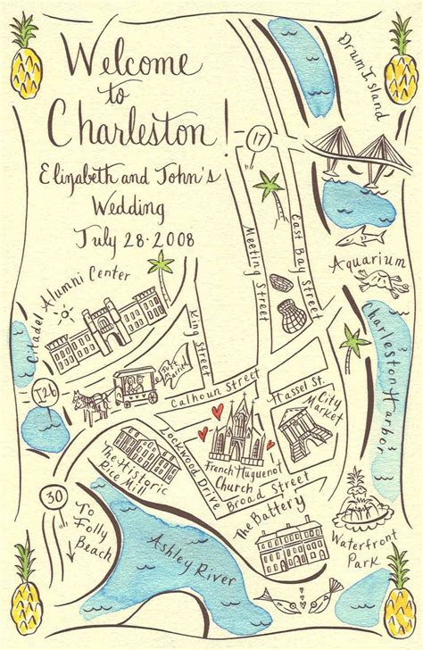 Wedding Invitation Map by Unique Wedding Maps From Ceremony To The Reception